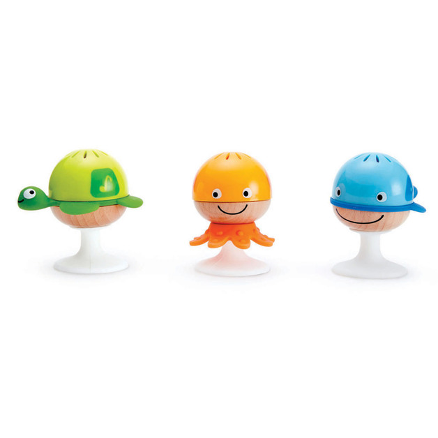 Hape: Stay-Put Rattle Set