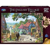 Holdson: The English Village - Village Bus 500 Piece XL Puzzle