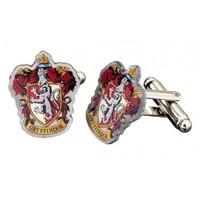 Harry Potter: Silver Plated Gryffindor Crest Cufflink image