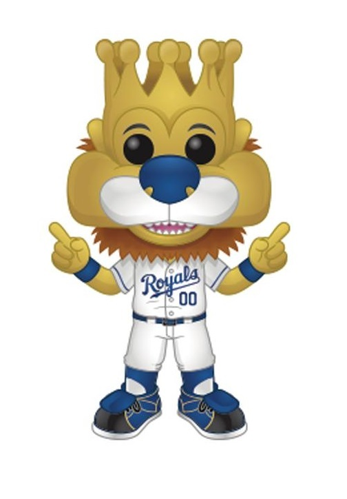 MLB - Sluggerrrr KC Team Mascot Pop! Vinyl Figure image