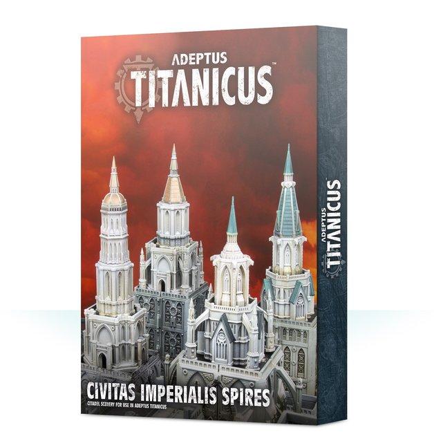 Warhammer 40,000 Adeptus Titanicus: Civitas Imperialis Spires