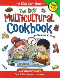 Kids' Multicultural Cookbook: Food and Fun Around the World by Deanna F. Cook image