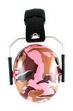Banz Earmuffs - Camo Pink
