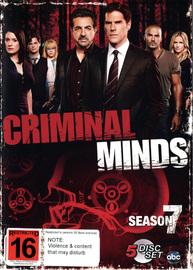 Criminal Minds - Season 7 on DVD image