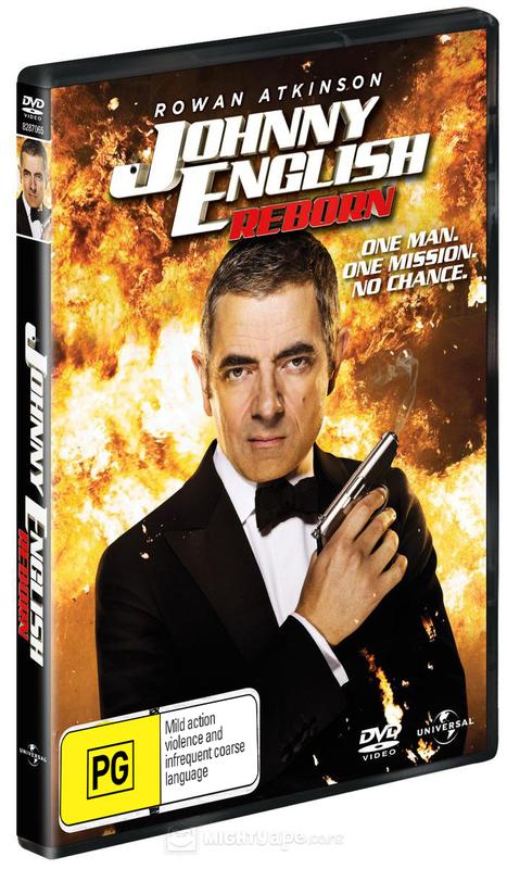 Johnny English Reborn on DVD