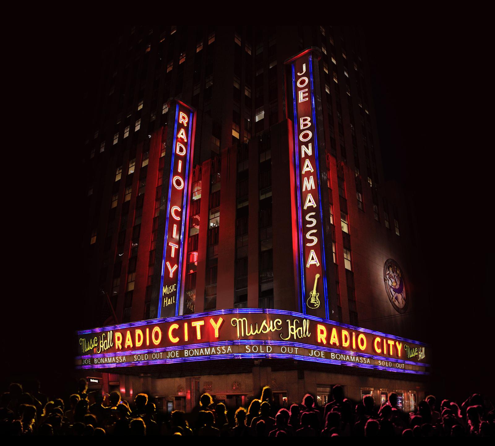 Live At Radio City Music Hall (CD/DVD) by Joe Bonamassa image