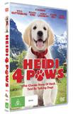 Heidi 4 Paws on DVD