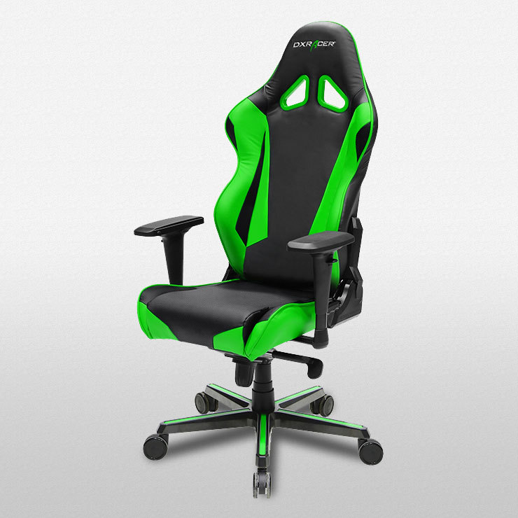 Dxracer Racing Series Rz0 Gaming Chair Black Amp Green