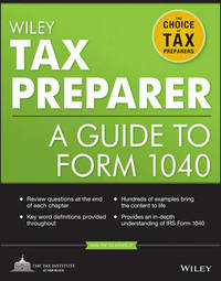 Wiley Tax Preparer by The Tax Institute at H&R Block
