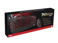 Gorilla Gaming Predator Keyboard & Mouse (Red) - Bonus Item
