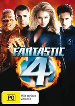 Fantastic Four - Special Edition on DVD