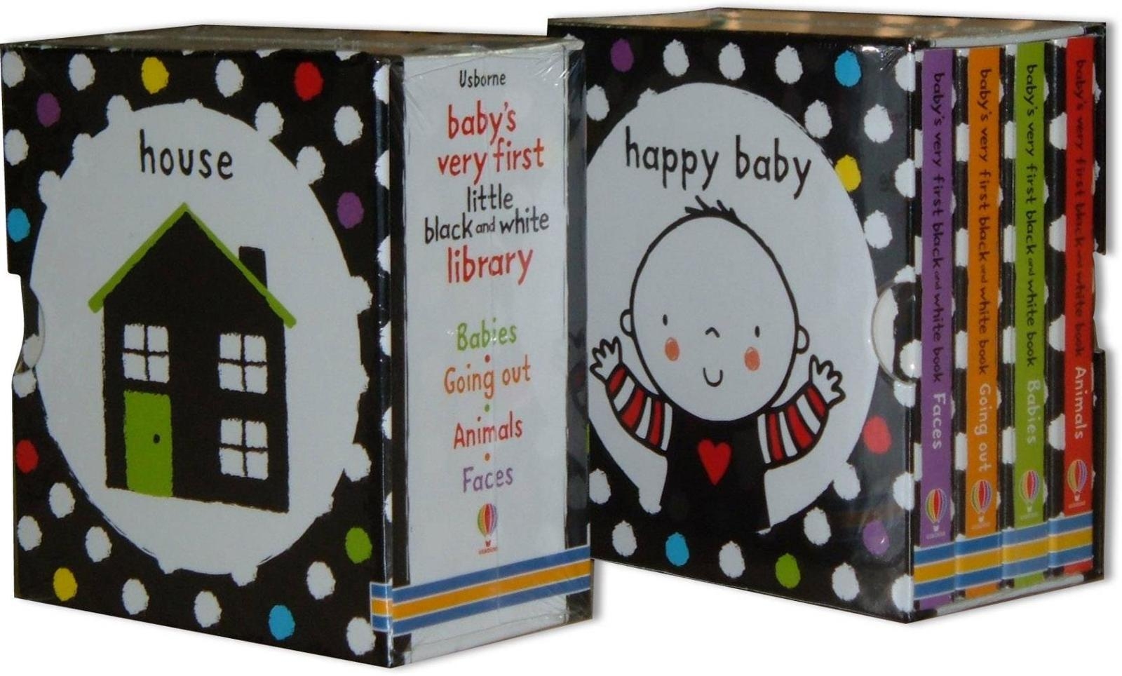 Baby's Very First Black and White Little Library Boxed Set image