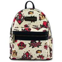 Loungefly: Marvel Deadpool Tattoo - Mini Backpack