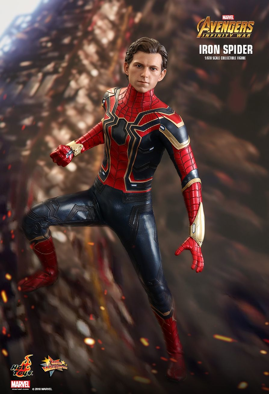 "Avengers Infinity War: Iron-Spider - 12"" Articulated Figure image"