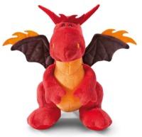 Nici: Sitting Dragon - Red (30cm)
