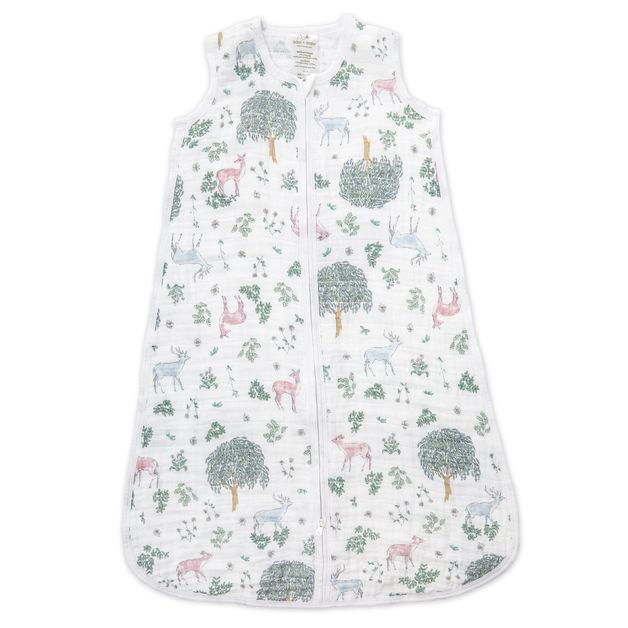 Aden + Anais: Classic Muslin Sleeping Bag - Forest Fantasy - Deer (Medium)