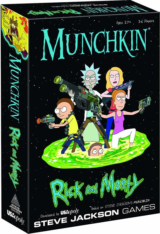 Munchkin: Rick and Morty - Card Game
