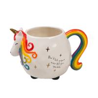 Natural Life: Folk Mug - Unicorn image