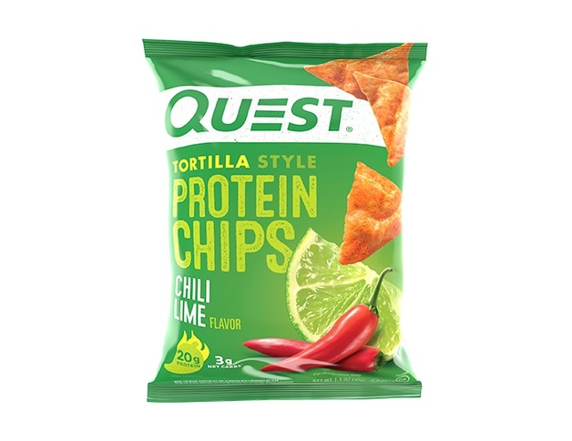 Quest Nutrition: Tortilla Style Protein Chips - Chilli Lime (32g)