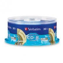 Verbatim CD-R 700MB 30Pk Spindle LightScribe 52x image