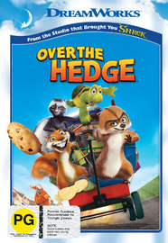 Over The Hedge on DVD image