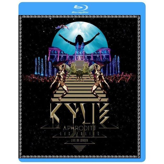 Kylie Minogue - Aphrodite Les Folies - Live In London (Blu-ray 3D / Blu-ray) on Blu-ray