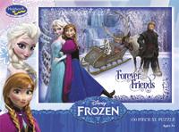 Disney Frozen 100 Piece Boxed Puzzle - Forever Friends image