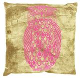 Black Robin Owl Cushion