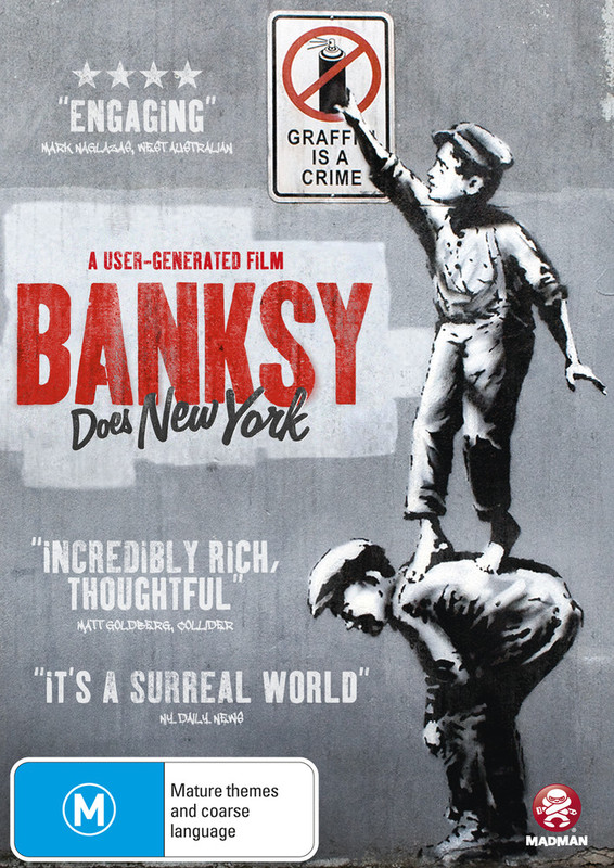 Banksy Does New York on DVD