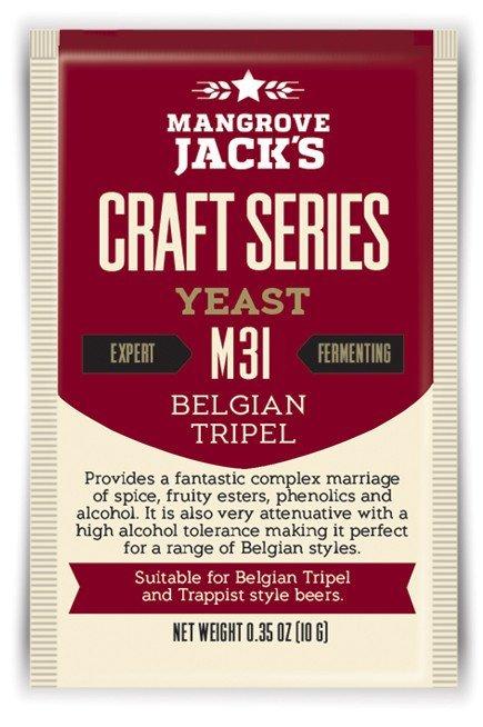 Mangrove Jack's Craft Series Yeast M31 Belgian Tripel (10g)
