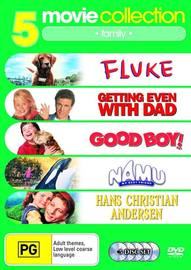 Fluke/Good Boy/Namu My Best Friend/Hans Christian Anderson/Getting Even with Dad (5 Disc Set) on DVD image