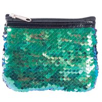 Reversible Sequin Coin Purse - Mermaid