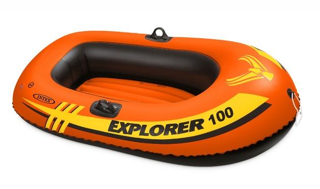 """Intex: Explorer 100 - Inflatable Boat (60"""" x 40"""")"""