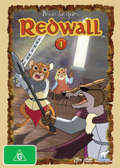 Redwall (Brian Jacques') - Vol. 4 on DVD