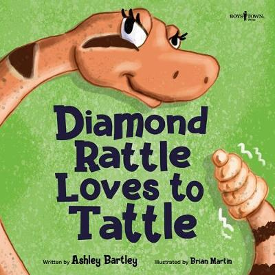 Diamond Rattle Loves to Tattle by Ashley Bartley