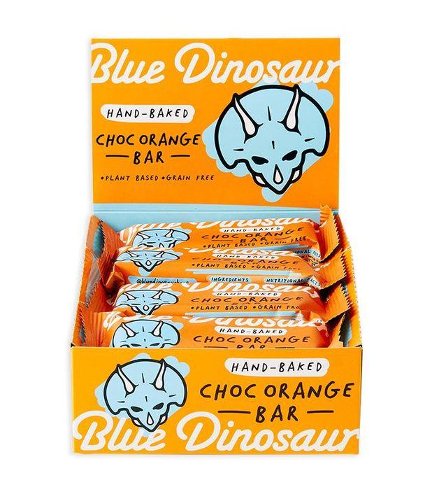 Blue Dinosaur Hand-Backed Paleo Bars - Chocolate Orange (Box of 12)