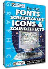 Fonts, Screensavers, Icons & Sound Effects