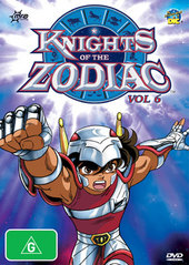 Knights Of The Zodiac: Vol 6 on DVD