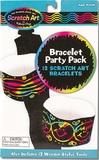 Scratch Art Bracelet Party Pack - Melissa & Doug