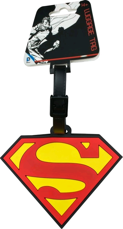 DC Comics: Superman Logo - Luggage Tag