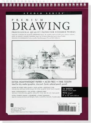 """Premium Drawing Pad (9"""" x 12"""")"""