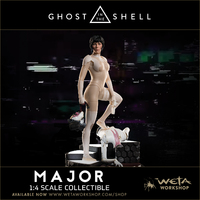 Ghost in the Shell: 1/4 The Major - Replica Statue