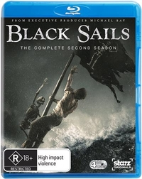 Black Sails - The Complete Second Season on Blu-ray