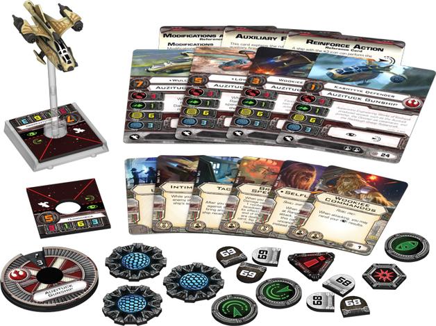 Star Wars Auzituck Gunship Expansion Pack