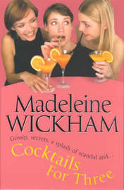 Cocktails For Three by Madeleine Wickham image