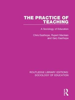 The Practice of Teaching by Chris Easthope image