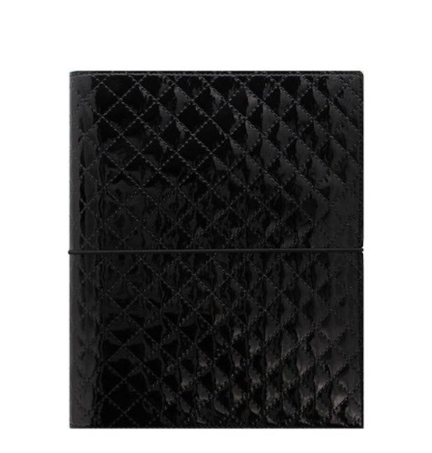 Filofax Domino Luxe A5 Organiser - Black