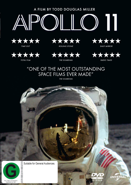 Apollo 11 on DVD image