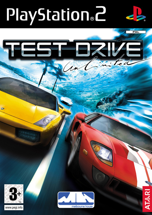 Test Drive Unlimited for PlayStation 2