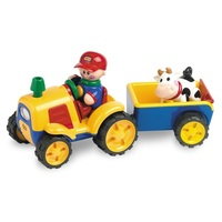 Tolo First Friends Tractor/Trailer Set